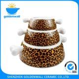 Porcelana 250ml/bacia do cão armazenamento de 750ml /1750ml grande