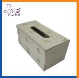 Quadratischer Eitelkeits-Kasten-Gewebe-Kasten-kosmetischer Verfassungs-Kasten