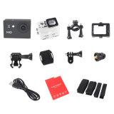 HD 1080P cámara de la acción del deporte de la lente granangular del LCD de 2.0 pulgadas