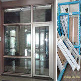 Portelli di alluminio di Windows con il più nuovo disegno e le caratteristiche rotte del ponticello