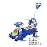Carro plástico do balanço dos miúdos, carro da torção, brinquedos do bebê