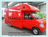 Tipo carrello mobile del bus dell'alimento da vendere da Qingdao, Cina