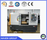 Máquina CK40 do torno do metal do CNC