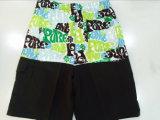 De Vlakke Raad Korte Swimwear van de Mensen van de Taille oeko-Tex Polyester Gevormde