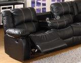 Sofá popular da sala de visitas, sofá de couro, sofá, sofá do Recliner (E3591)