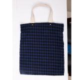 Colore beige casuale dei sacchetti di acquisto del tessuto di cotone di trasporto libero con il sacchetto di acquisto dei sacchetti di spalla delle borse delle donne del reticolo di Florals