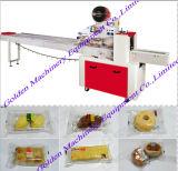 Venta de la empaquetadora horizontal del bocado de la panadería del pan de la galleta de la torta del alimento