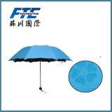 Parapluie extérieur de Double couche de qualité annonçant le parapluie