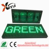 Singolo schermo di visualizzazione verde esterno del testo del modulo del testo LED di colore P10