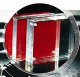 Opaco 2 mm de acrílico rojo Hoja Hoja / PMMA / plexiglás