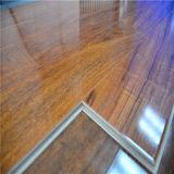 Plancher en bois stratifié à haute brillance imperméable à l'eau (plancher en stratifié)