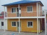Dormitorio prefabricado del chalet de la casa de la casa prefabricada popular de África para la familia o los trabajos