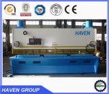 QC11K-6X2500 Máquina de cortar y cortar de la hoja de la guillotina hidráulica del CNC