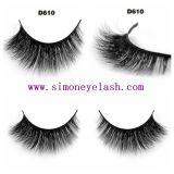 3D Mink Hair Cosmetic False Lashes pour la beauté Maquillage