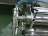 Het halfautomatische Horizontale Vloeibare het Vullen Roestvrij staal van de Grootte van de Machine Kleine