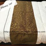 別の様式の高品質のホテルのベッドのランナーのホテルのベッドのスカーフの寝具