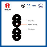 Innenkern-Doppeltransceiverkabel G des faser-Optikkabel-G657A 4 J x H hergestellt in China