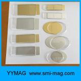 Plastic Plating Name Tag / Badge com Magnet Back Supply Preço barato