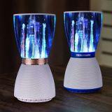 LEDを持つBluetoothの無線スピーカー、Bluetoothの実行中のスピーカー
