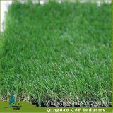 着色された人工的な草、美化のための総合的な芝生