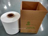 película branca fundida LLDPE do envoltório da ensilagem de 250mm*1800m para prensas pequenas
