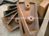 Pièces de rechange s'usantes pour le moulin d'AG/Sag, broyeur à boulets utilisé dans le mien de cuivre