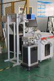 máquina de grabado de la marca del laser del CO2 de la pista del Galvo de 30W Synrad para la botella plástica en cadena de producción