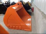 Acessório da máquina escavadora, cubeta de lama da máquina escavadora para a máquina 20t