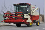 車輪のタイプ低損失のレートの豆の収穫機械