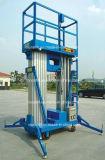 유압 두 배 돛대 이동할 수 있는 알루미늄 작업 플래트홈