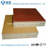 Panel de partículas / aglomerado de melamina con reborde de borde de PVC