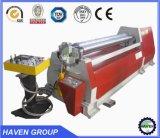 Quatre machines hydrauliques certificted par CE de dépliement/roulement de plaque de rouleau de W12S