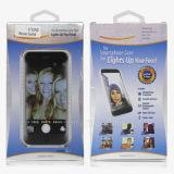 La linterna autodina de la luz LED del teléfono móvil del artefacto de la luz de la punta de la luz del terraplén de la belleza de la lente de Apple es una muchacha hermosa