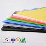 Feuille en plastique ondulée de pp colorée par qualité