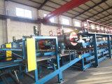 Alta calidad EPS y cadena de producción del panel de emparedado de las lanas de roca