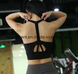 女性のためのスポーツ・ウェア、連続した衣類、ヨガの摩耗、女性のスポーツのブラ