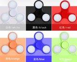 De plastic Spinners van het Stuk speelgoed met kleurrijke leiden