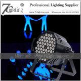 162W de Verlichting DMX van de LEIDENE Lichte Stand-Alone Lopende UV LEIDENE van het PARI Prestaties van Blacklight