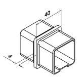 Quadratisches Geländer-System