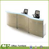 Mesa de mesa Mesa de recepção barata Design personalizado Mesa de recepção branca