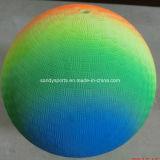 Шарик спортивной площадки радуги PVC Eco 8.5 дюймов содружественный