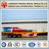 3 Fuwa Axles 40FT Skeleton Container Semi-Trailer Container Chassis