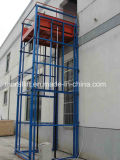 Máquina de elevación de guía del edificio vertical del carril para levantar el concreto