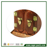 Contenitore di monili di legno dell'alta lacca lucida di lusso di alta qualità