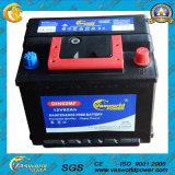 Batería de coche sin necesidad de mantenimiento de DIN62 12V62ah