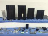 CNCの機械化の担保付きのひれアルミニウム脱熱器訓練
