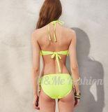 Двухкусочная верхняя часть Taniki Flouncing для бикини Swimsuits девушок он-лайн