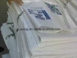 material de construcción 25kg PP pila de discos el bolso