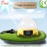 Incubateur complètement automatique d'oeufs de poulet d'oeufs de Hhd 7 pour la hachure