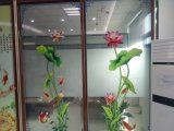 Vetro decorativo modellato glassato della mobilia/famiglia/finestra